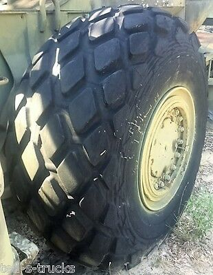 """26.5-25 Goodyear All Weather Tire 26 ply  1 8/32"""" Tread  Good Used"""