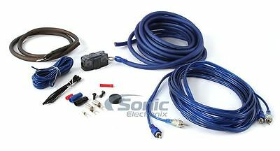 The InstallBay AK4 Complete 4 AWG Gauge Amplifier/Amp Installation Wiring Kit