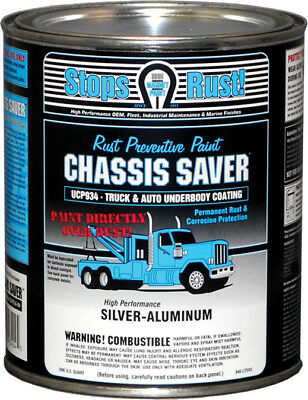 Magnet Paint UCP934-04 Chassis Saver Silver Aluminum 1 Quart Can Rust Prevention