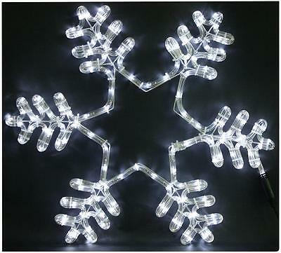 58cm Snowflake LED Rope Light Xmas Lights Indoor Outdoor Christmas Decoration