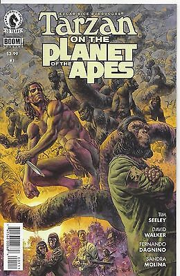Tarzan on the Planet of the Apes (2016) near mint comics 1st printing