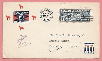 1928 Democratic National Convention Houston Tx Cover