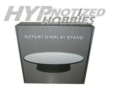 """King Creation 1:24 Mirror Top Rotary 8"""" Display Stand 88008"""