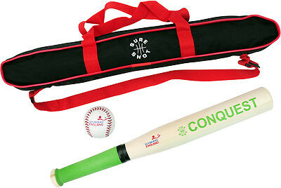 Sure Shot Baseball Sports Conquest Set With Carry Case For  High Calibre Player