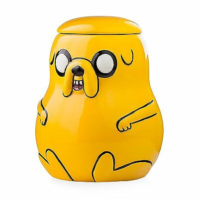 Adventure Time Jake 3D Ceramic Cookie Jar