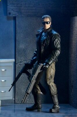 Terminator Actionfigur: Ultimate Terminator T-800 Police Station Assault