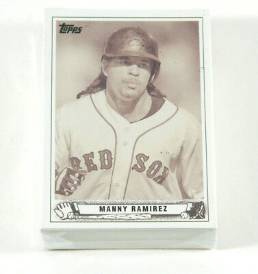 Lot of (50) 2008 Topps Trading Card History Manny Ramirez TCH33 Philiies Nm/Mt