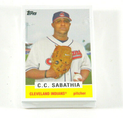 Lot of (50) 2008 Topps Trading Card History C.C. Sabathia TCH46 Indians Nm/Mt