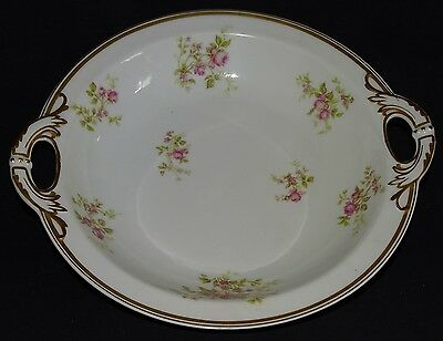 Haviland & Co. Limoges France Handled Serving Bowl