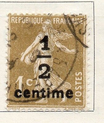 France 1932-36 Early Issue Fine Used 1/2c. 093992