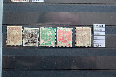 Lot Stamps Morocco Local Mh* (F95123)