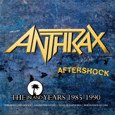 Anthrax - Aftershock: Island Years [New CD] Holland - Import