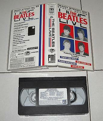 Vhs THE BEATLES LIVE Ready Steady Go Special edition PERFETTO 1985