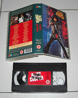 VHS ALICE COOPER Trashes the world 1990 OTTIMO