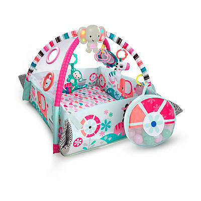 Bright Starts 5-in-1 Your Way Ball Play; Pink Activity Gym