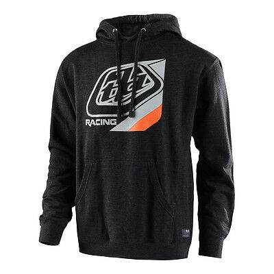 Troy Lee Designs TLD PRECISION Pullover Hoodie Gunmetal/Charcoal MX ATV 73135299