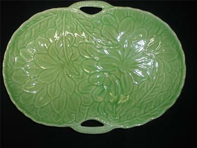 Fabulous Porcelain Green Lily Dish Hand Painted Shorter & Son England
