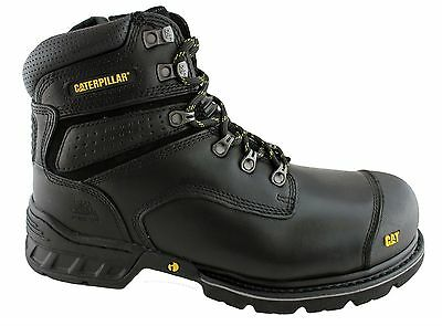 Caterpillar Cat Brakeman Side Zip Mens Steel Toe Work/safety Boots/shoes Sale