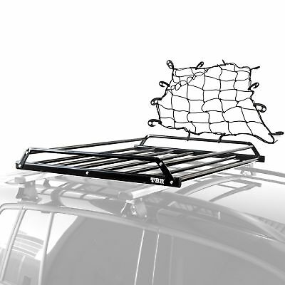 Car Roof Tray Platform Carry Basket With Net 1110x970mm