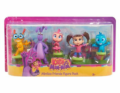 Kate & Mim-Mim - Mimiloo Friends Collectible 5 Figure Pack  *BRAND NEW*