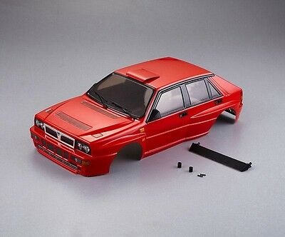 killerbody Lancia Delta HF Integrale Karosserie 1/10 Rot all-in - KB48288
