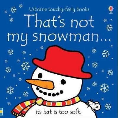 That's Not My... Snowman by Fiona Watt - Usborne Touchy-Feely
