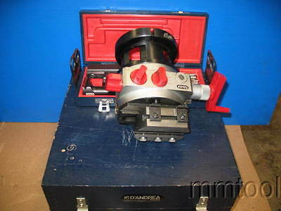 D'andrea Ta 120 Sensitiv Boring Head R-8 Bridgeport Shank + Tooling ***superb***