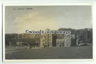 tp9201 - Somerset - Early View of St.Audries School, West Quantoxhead - postcard