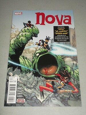 Nova #4 Marvel Comics Nm (9.4)