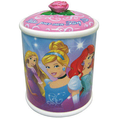 NEW Disney Fairy Tale Princesses Ariel Cinderella and More Canister Cookie Jar