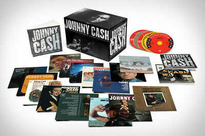 Johnny Cash - The Complete Columbia Collection [New CD] Oversize Item Spilt, Box