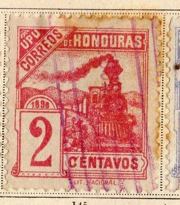 Honduras 1898 Early Issue Fine Used 2c. 094248