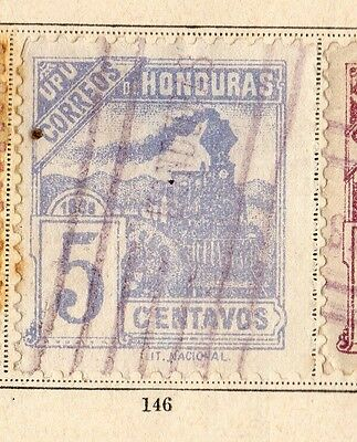 Honduras 1898 Early Issue Fine Used 5c. 094249