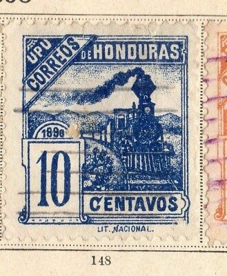 Honduras 1898 Early Issue Fine Used 10c. 094251