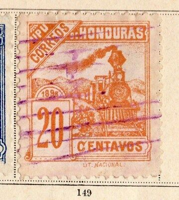 Honduras 1898 Early Issue Fine Used 20c. 094252