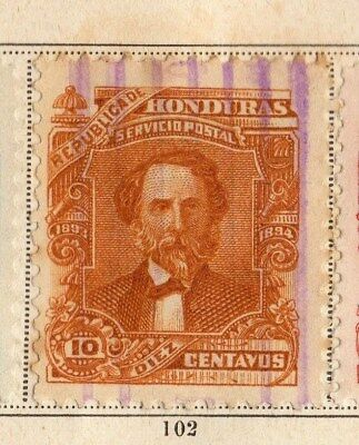 Honduras 1893 Early Issue Fine Used 10c. 094271