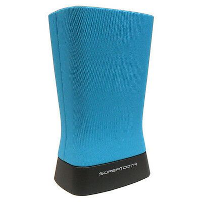 New Supertooth Disco 2 Blue Bluetooth Portable Wireless Speaker High Power Rt