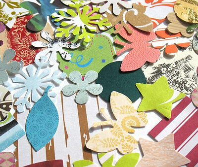 Willy Nilly - Assorted Die Cuts - Butterflies, Hearts, Flowers, Stars, Etc