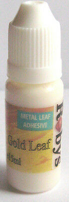 Gold Leaf Size Adhesive/Glue Gilding 15ml Bottle  GOLD/SILVER LEAF PROJECTS