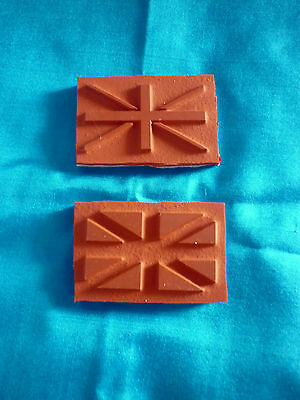 Union Jack Rubber Stamp Set