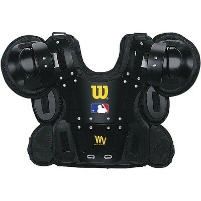 Wilson West Vest Pro Gold Umpire's Chest Protector (Small-Medium, 11-Inch)