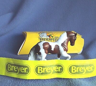 BreyerFest 2016 Stablemates PARA Andalusian Pinto – ADD More SM Free Ship USA
