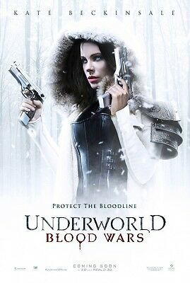 Underworld Blood Wars Advance Double Sided Original Movie Poster 27x40 inches