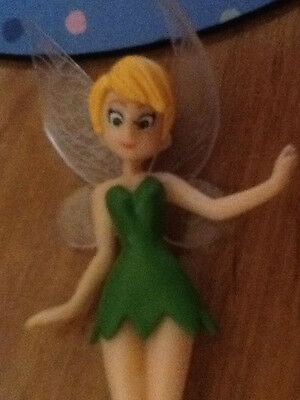 1x STANDING  Beautiful Tinkerbell Fairy Figurines Ornament cake Topper or garden