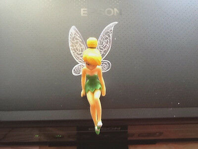 1x SITTING Beautiful Tinkerbell Fairy Figurines Ornament cake Topper or garden