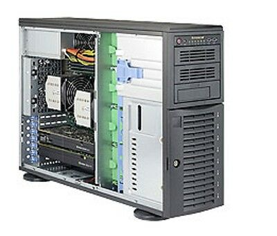 * * * * * SuperMicro SYS-7048A-T Tower/4U Rackmountable Barebone SuperServer