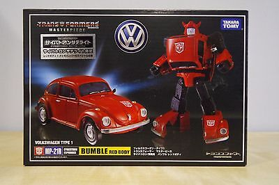 TAKARATOMY Transformers MP-21R Bumblebee Red Version + Coin  FREE2SHIP EXPRESS