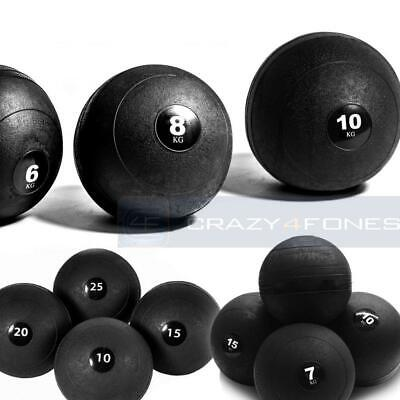 No Bounce Slam Ball Weight Lift Workout MMA Boxing Crossfit Fitness Gym Training