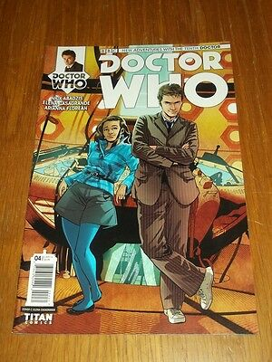 Doctor Who #4 Tenth Doctor Titan Comics Cover C Nm (9.4)