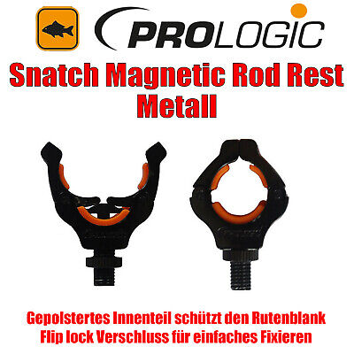 Prologic Snatch Magnetic Rod Rest aus Metall Rutenauflage - 48399 - NEU/OVP J49